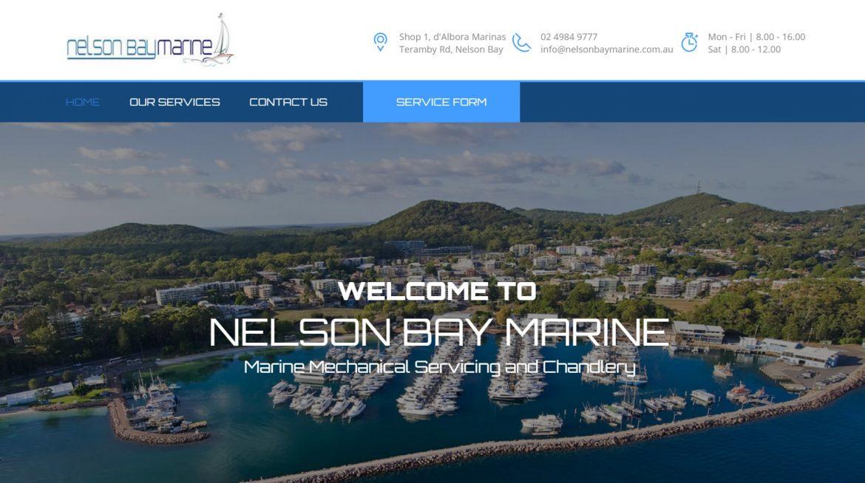 Nelson Bay Marine Homepage