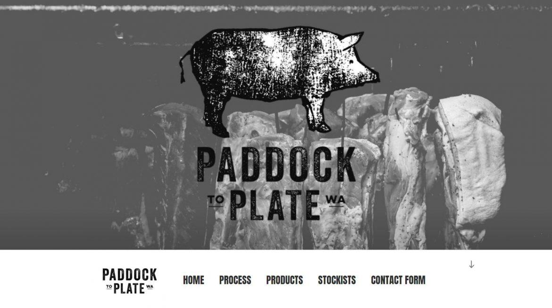 Paddock To Plate WA Homepage