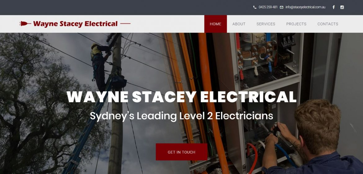 Stacey Electrical Homepage