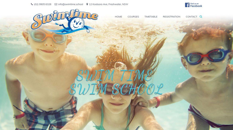 Swimtime Swim School Homepage